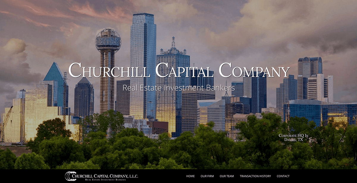 website design services for financial services companies