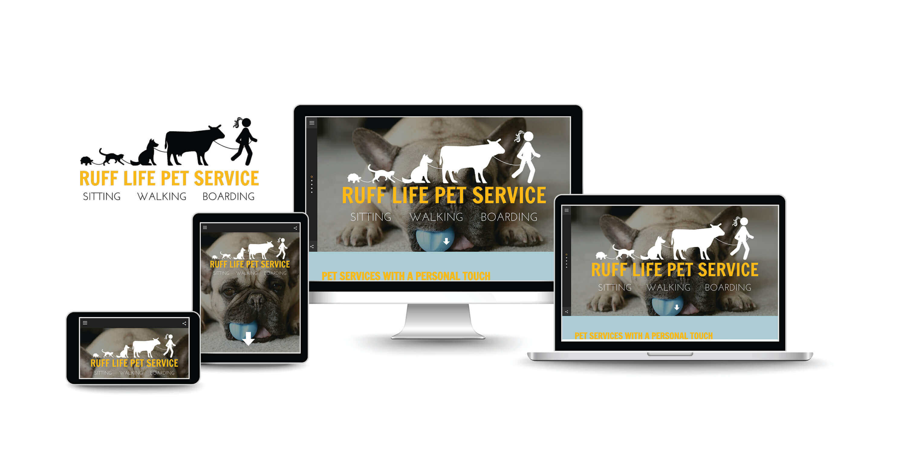 website design and SEO services for dog walkers