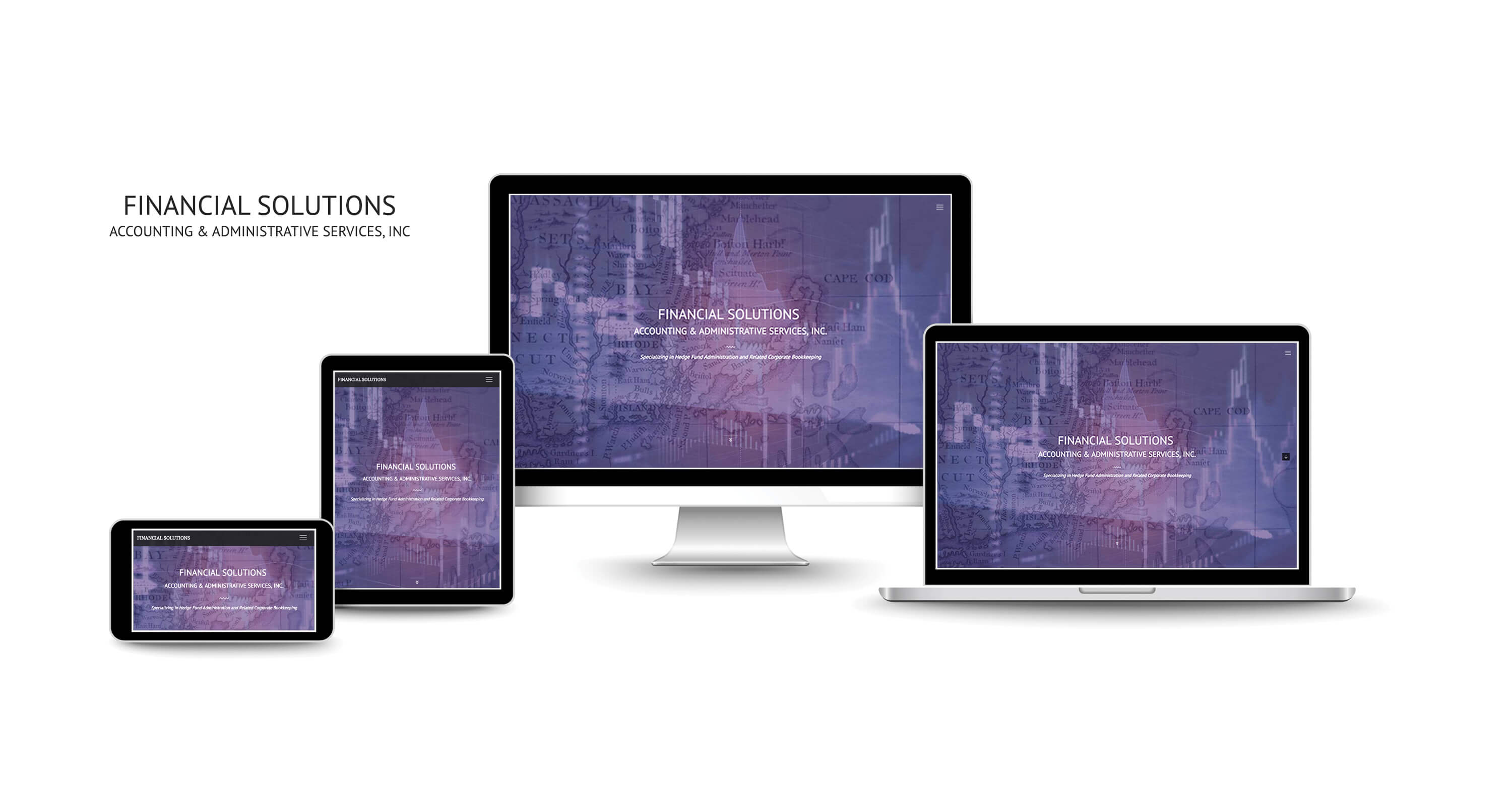 financial accounting website design services New York
