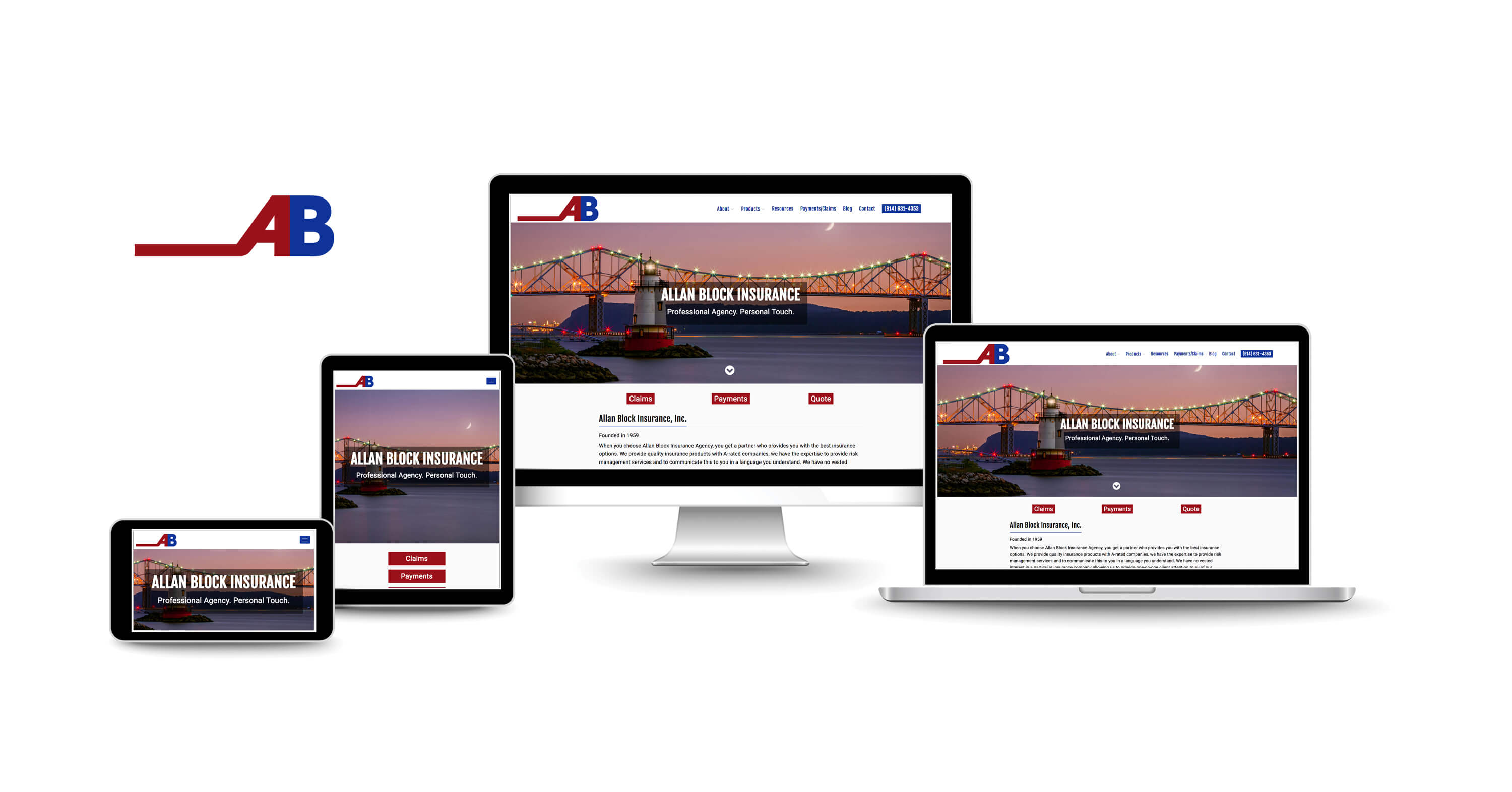 website design services for New York insurance agencies