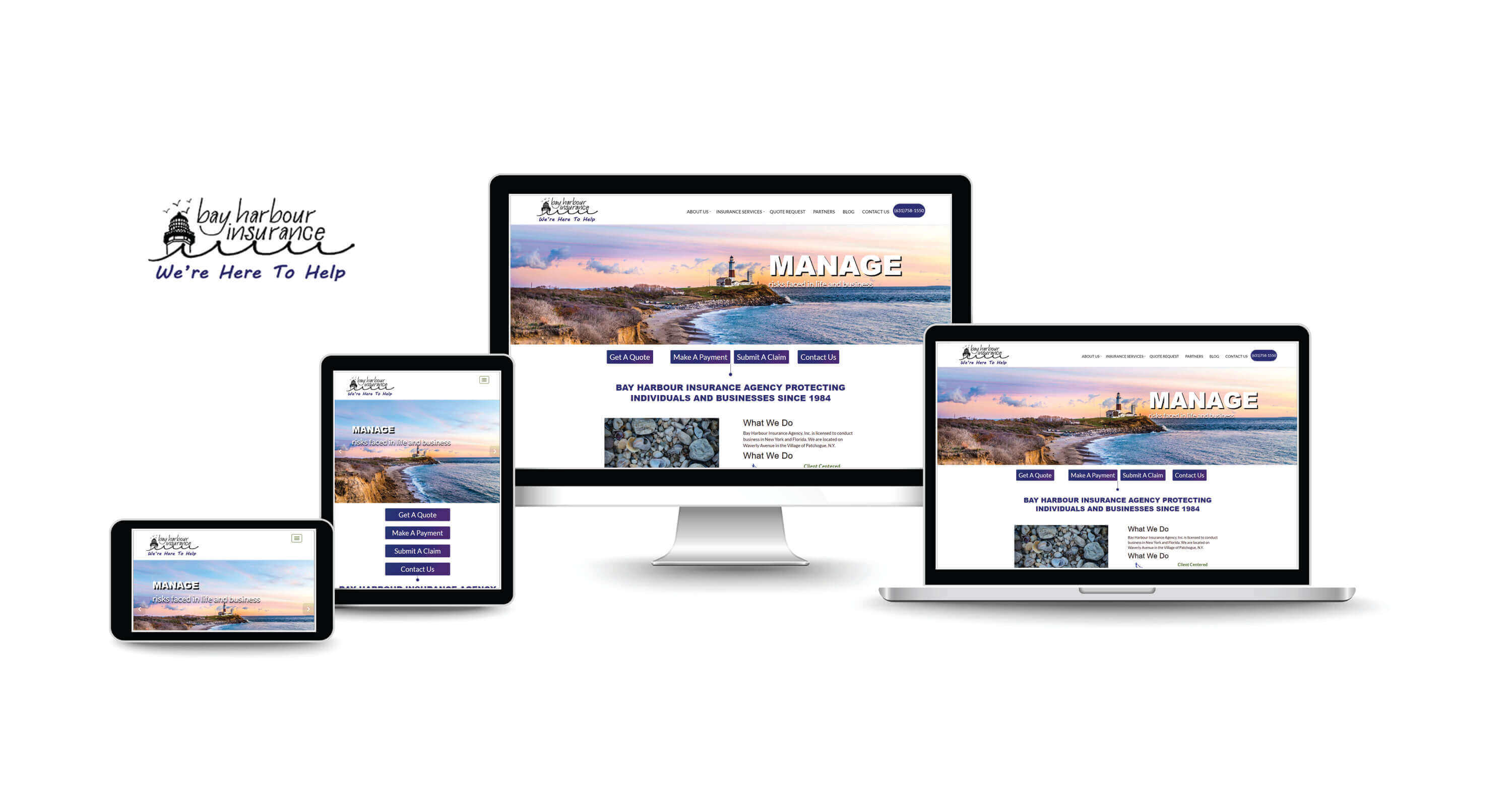 website design and SEO services for independent insurance agencies