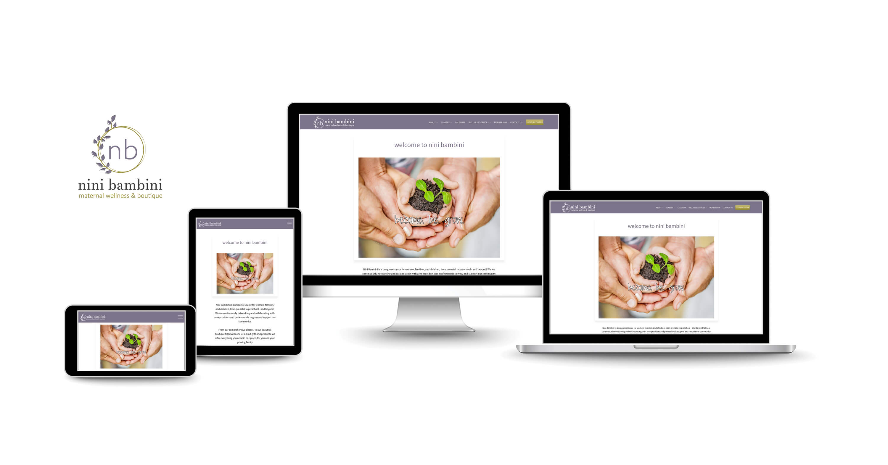 website design services for natural wellness companies